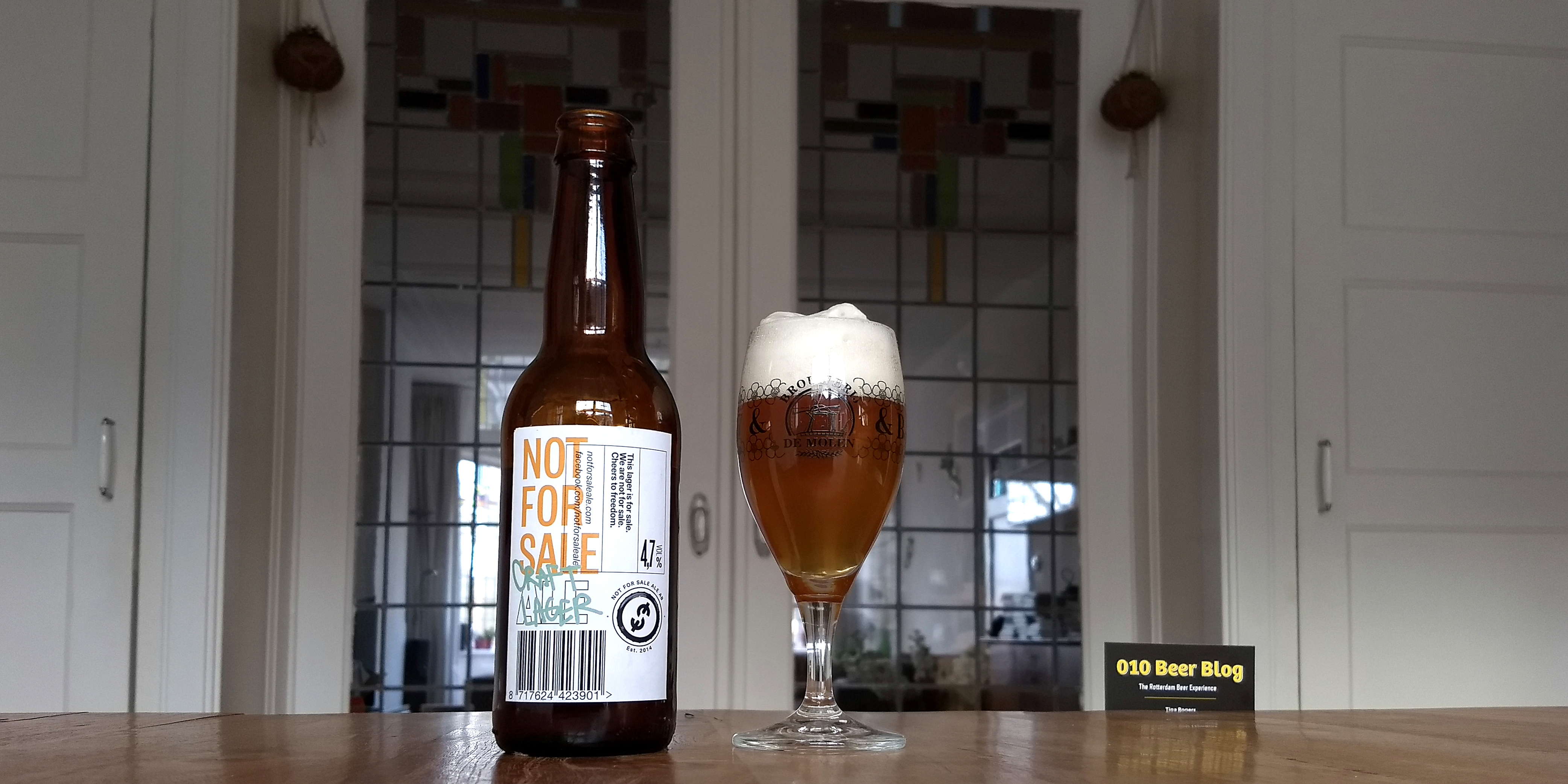 Not for Sale Craft Lager Brouwerij de Molen