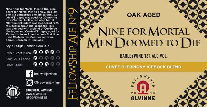 Alvinne Nine for Mortal Men Doomed to Die