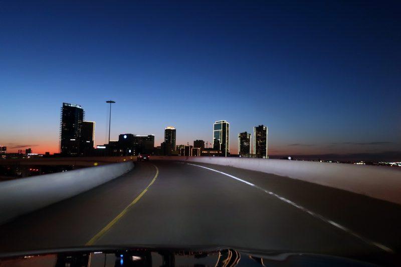 Forth Worth at dusk