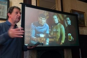2018: Love the Star Trek humor Marco Daane threw in during his presentation!