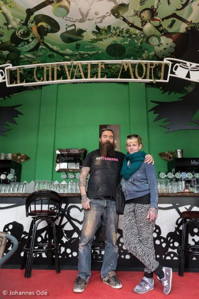 Arno Coenen en Iris Roskam
